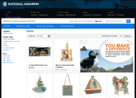 Nationalaquariumgiftshop.com thumbnail