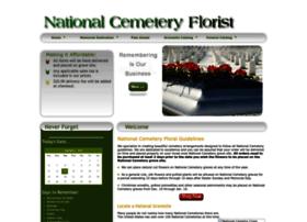 Nationalcemeteryflorist.org thumbnail