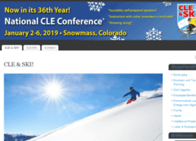 Nationalcleconference.com thumbnail