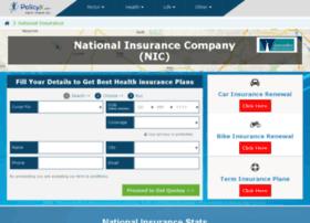 Nationalinsurance.policyx.com thumbnail