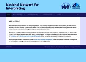 Nationalnetworkforinterpreting.ac.uk thumbnail