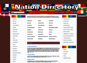 Nationdirectory.info thumbnail