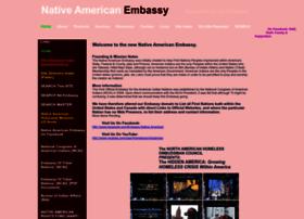 Nativeamericanembassy.net thumbnail