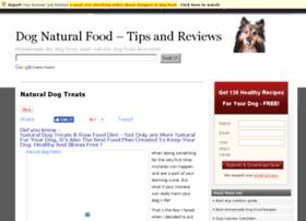 Naturaldogfood.info thumbnail