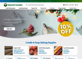 Naturesgardencandles.com thumbnail