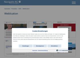 Navigate-weblication-referenzen.de thumbnail