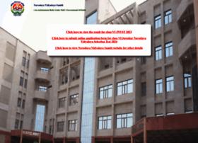 Navodaya.gov.in thumbnail