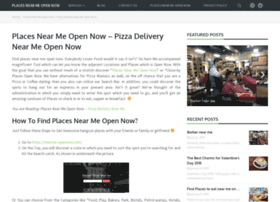 nearme-opennow com at WI  Places Near Me Open Now – Find Places Near