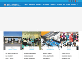 Neduet.edu.pk thumbnail