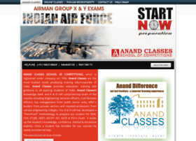 Neeraj-anandclasses.co.in thumbnail