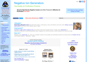 Negativeiongenerators.com thumbnail