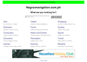 Negrosnavigation.com.ph thumbnail