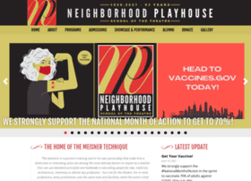 Neighborhoodplayhouse.org thumbnail