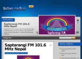Nepal.listenradios.com thumbnail