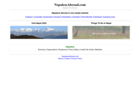 Nepaleseabroad.com thumbnail