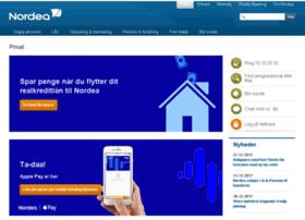 netbank.nordea.dk at WI. Nordea Bank - din online bank og lokale filial | Nordea.dk