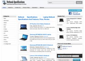 Netbookspecs.info thumbnail