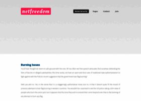Netfreedom.org thumbnail