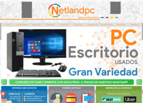 Netlandpc.cl thumbnail