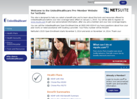 Netsuite.welcometouhc.com thumbnail