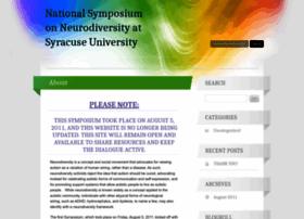 Neurodiversitysymposium.wordpress.com thumbnail
