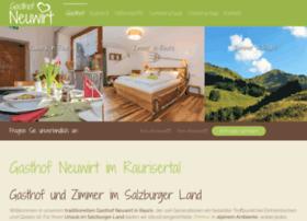 Neuwirt-raurisertal.at thumbnail