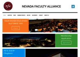 Nevadafacultyalliance.org thumbnail