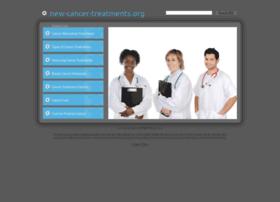 New-cancer-treatments.org thumbnail
