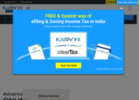 Karvy online trading software demo