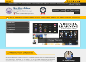 Newaliporecollege.ac.in thumbnail