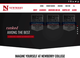 Newberry.edu thumbnail