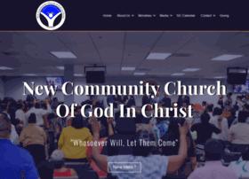 Newcommunity-cogic.org thumbnail