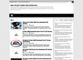 Newcricketgames.blogspot.com thumbnail