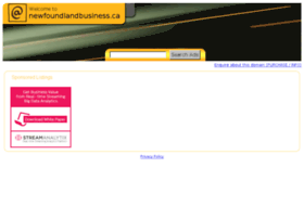 Newfoundlandbusiness.ca thumbnail