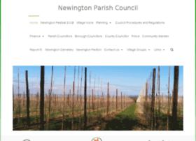 Newingtonpc.kentparishes.gov.uk thumbnail
