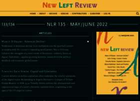 Newleftreview.org thumbnail
