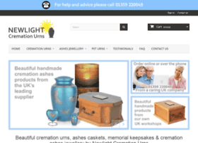Newlightcremationurns.co.uk thumbnail