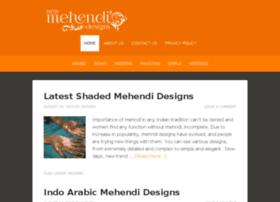 Newmehendidesigns.com thumbnail
