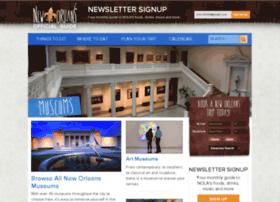 Neworleansmuseums.com thumbnail