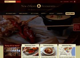 Neworleansrestaurants.com thumbnail