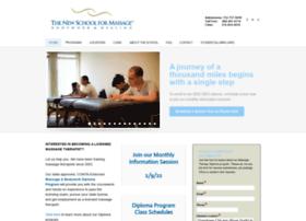 Newschoolmassage.com thumbnail