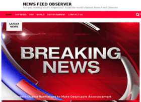 Newsfeedobserver.com thumbnail