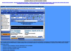 Newsletter-software-zum-html-newsletter-erstellen.de thumbnail