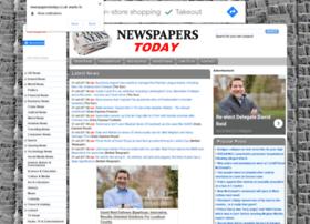 Newspaperstoday.co.uk thumbnail