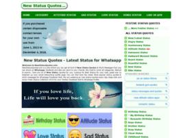 Newstatusquotes.com thumbnail