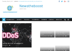 Newstheboost.com thumbnail