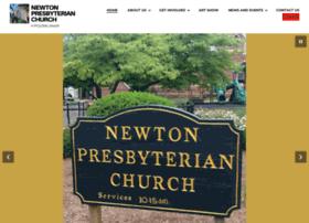 Newtonpresbyterianchurch.org thumbnail