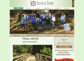 Newtontrails.org thumbnail