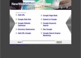 Newwebsitedirectory.net thumbnail