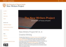 Newwritersproject.org thumbnail